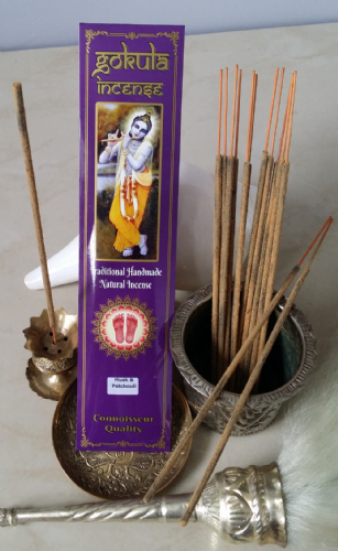 Musk & Patchouli Incense Sticks - 20 grams